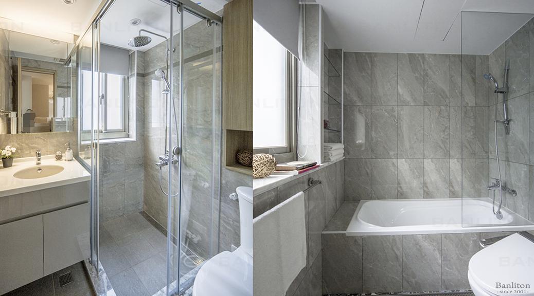 浴室乾溼分離的好幫手