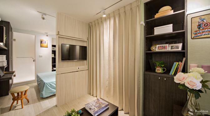 [挑高夾層設計] 破除遊子的居家辛酸,奉上4種小套房裝潢心得!