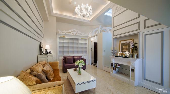 [挑高夾層設計] 知性美式輕古典,4米無敵夾層小豪宅!