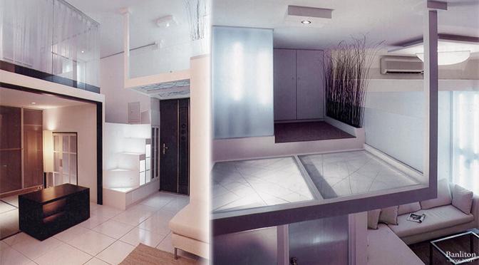 [低預算完成挑高夾層設計] 小巧精美也好用!3米6創意夾層宅