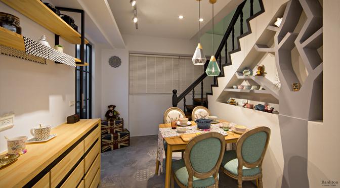 [挑高夾層設計] 讓造型展示樹牆成為你家的新打卡點!