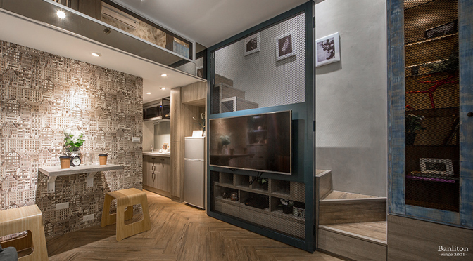 [挑高夾層設計] 只有單面採光?夾層也能用「◯ ◯」為室內增添光彩
